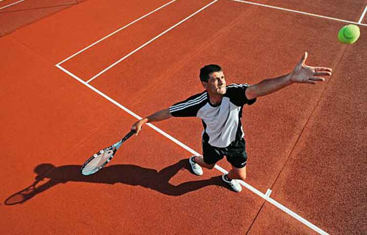Tennis sport rehabilitation